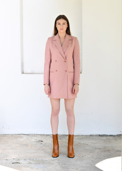 Double Colour Blazer Dress Teresė