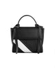 Bank Mini Black & White Bag