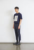 Oversize T-Shirt Navy with Print