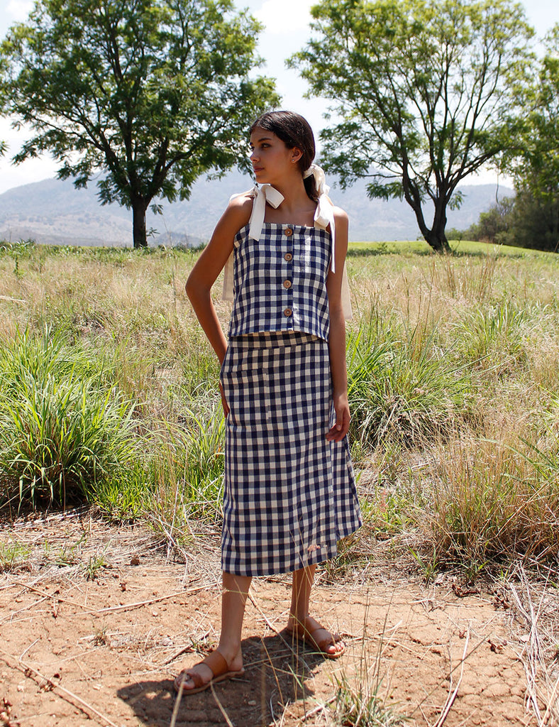 Frida Skirt Gingham