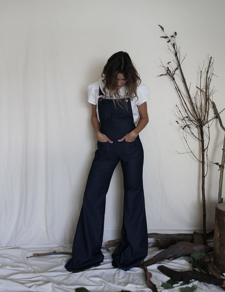 Martha Denim Dungarees