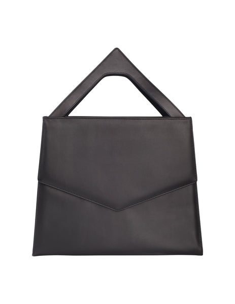 The Darcy Chevron Top Handle Box Tote