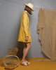 Limonite Ochre Linen Jacket