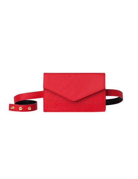 Lenny Brights Belt Bag Red