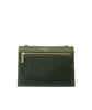 Multi Pouch Olive Pebble Grain Leather