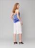 Paneled Silk-Satin Camisole
