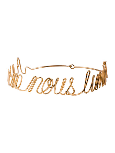 Simone Gold-Plated Choker