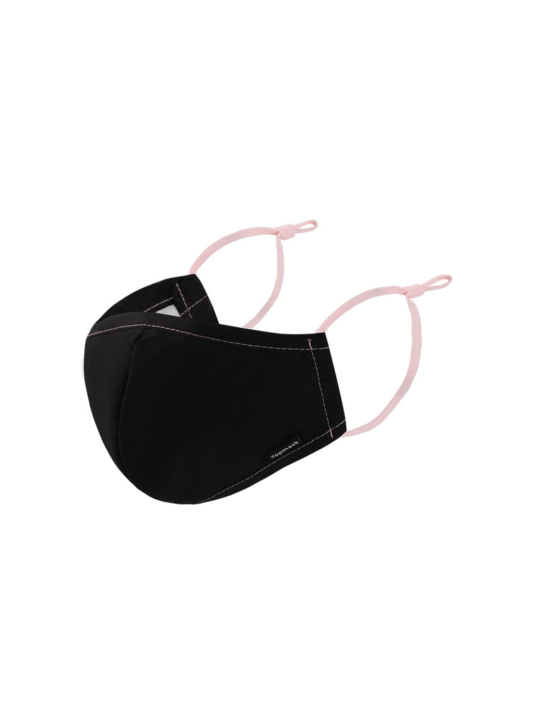 Topmask Australia Reusable Face Mask Black & Pink