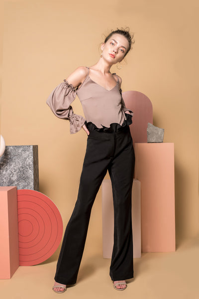 Vanta Ruffled Trousers