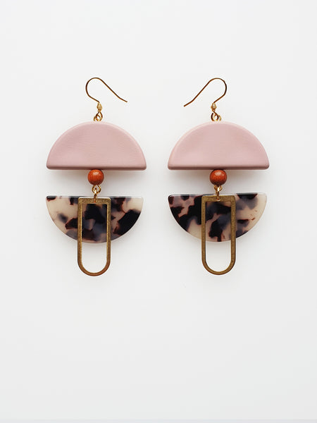 Helm Pink Earrings