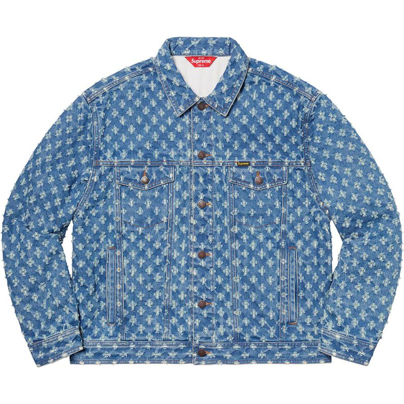 Supreme Hole Punch Denim Trucker - Perriél
