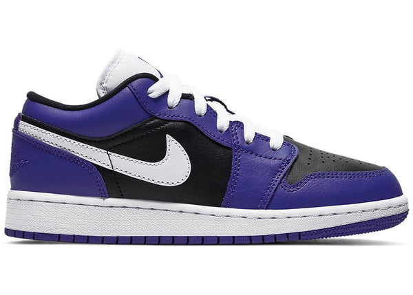 Jordan 1 Low Court Purple Black (GS) - Perriél