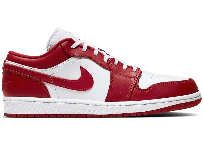 Jordan 1 Low Gym Red White - Perriél