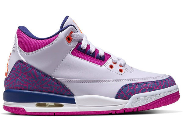Jordan 3 Retro Barely Grape (GS) - Perriél