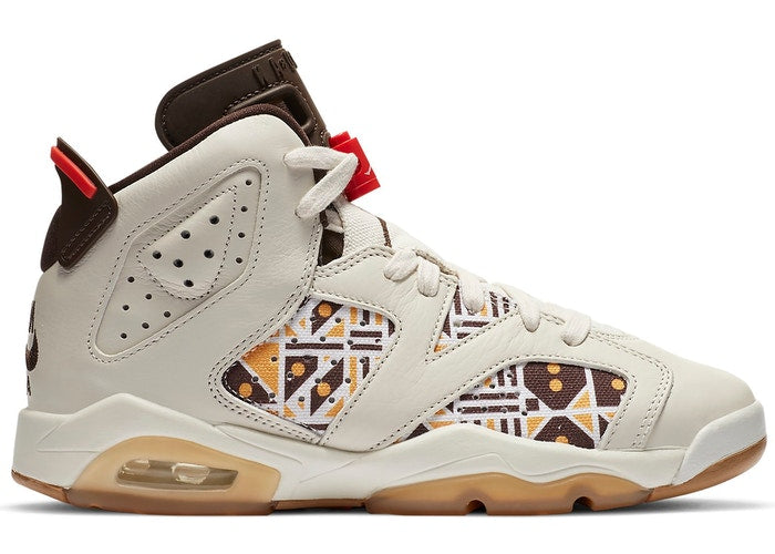 Jordan 6 Retro Quai45 Sail Brown 2020 (GS) - Perriél