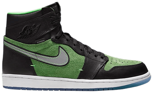 Jordan 1 Retro High Zoom Black Green - Perriél