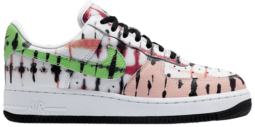 Nike Air Force 1 Low Black Tie Dye (W) - Perriél