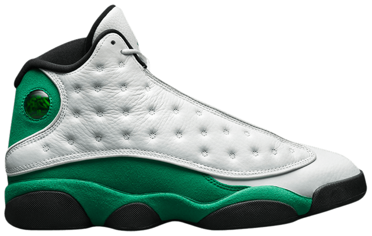 Jordan 13 Retro White Lucky Green - Perriél