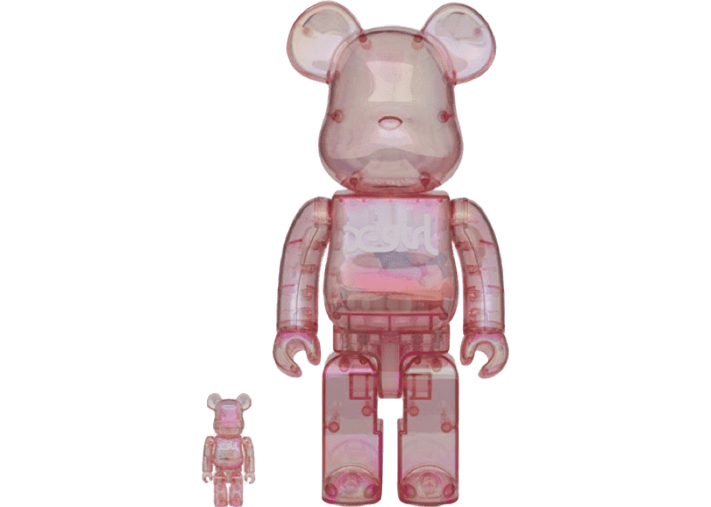 100% & 400 Set Bearbrick X-girl 2020 Set - Perriél