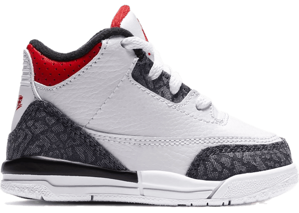 Jordan 3 Retro SE 1 Fire Red Denim (TD) - Perriél