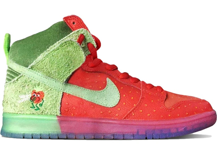 Nike SB Dunk High Strawberry Cough - Perriél