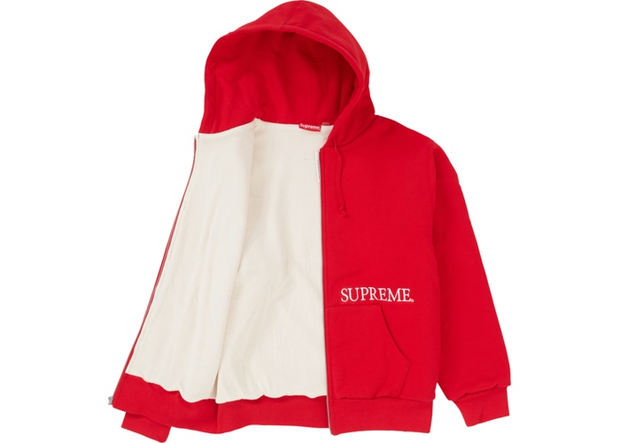 Supreme Thermal Zip Up - Perriél