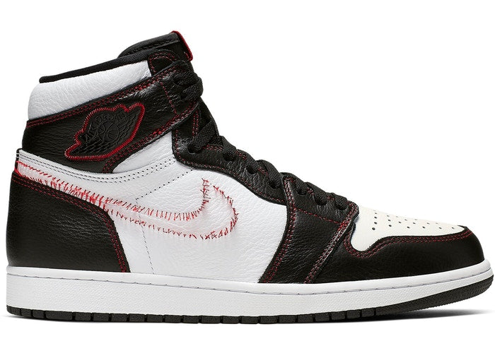 "Jordan 1 Retro High ""Defiant Black Gym Red"" - Perriél"