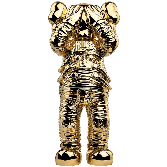KAWS Holiday Space Figure Gold - Perriél
