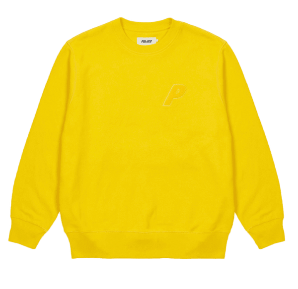 P-3 Chenille Crew Yellow