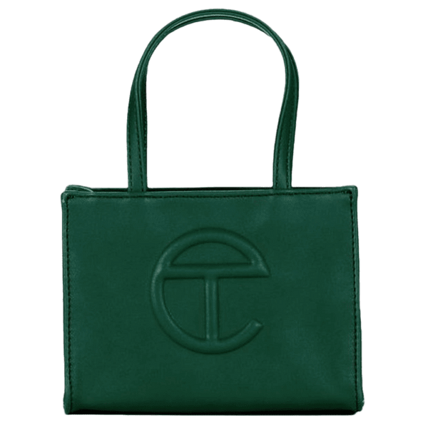 TELFAR Small Dark Olive Shopping Bag - Perriél