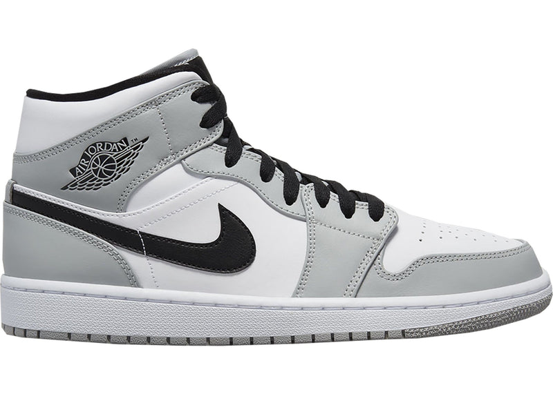 Jordan 1 Mid Light Smoke Grey - Perriél