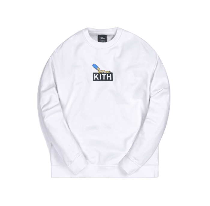 Kith for the Simpsons Marge Box Logo Crewneck - Perriél