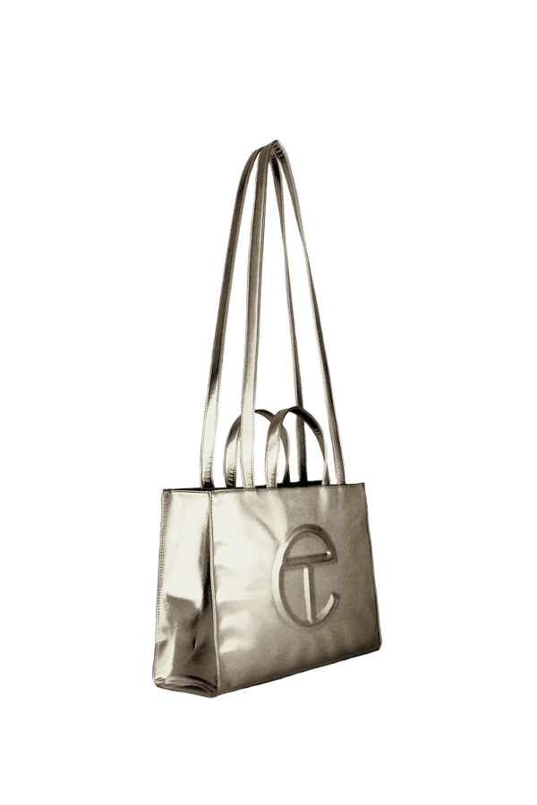 TELFAR Medium Bronze Shopping Bag - Perriél