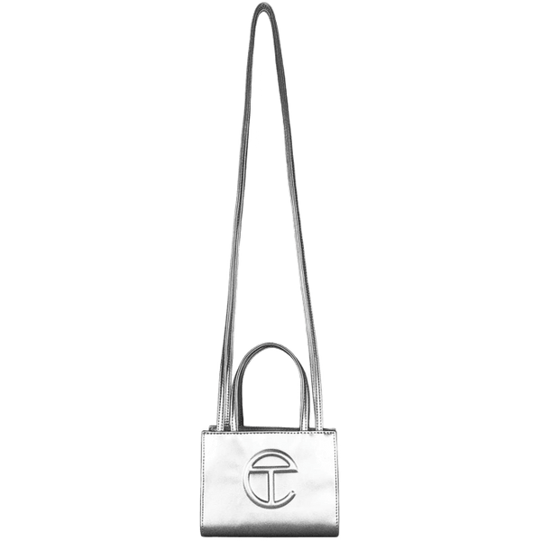 TELFAR Small Silver Shopping Bag - Perriél