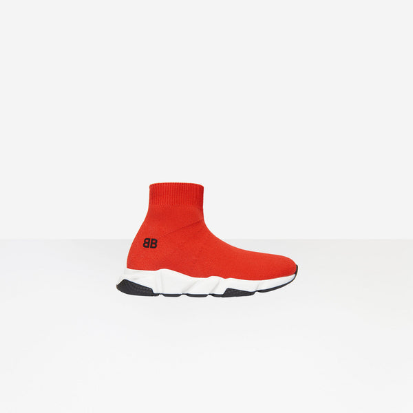 Balenciaga Kids Speed Trainer Red - Perriél