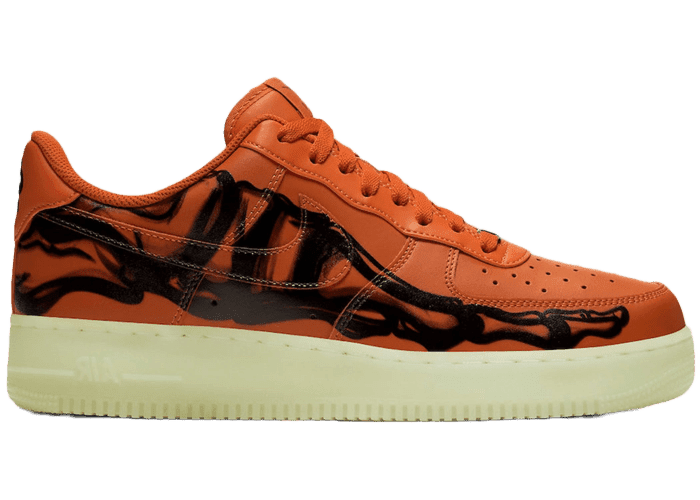 Air Force 1 Low 'Orange Skeleton' (2020)