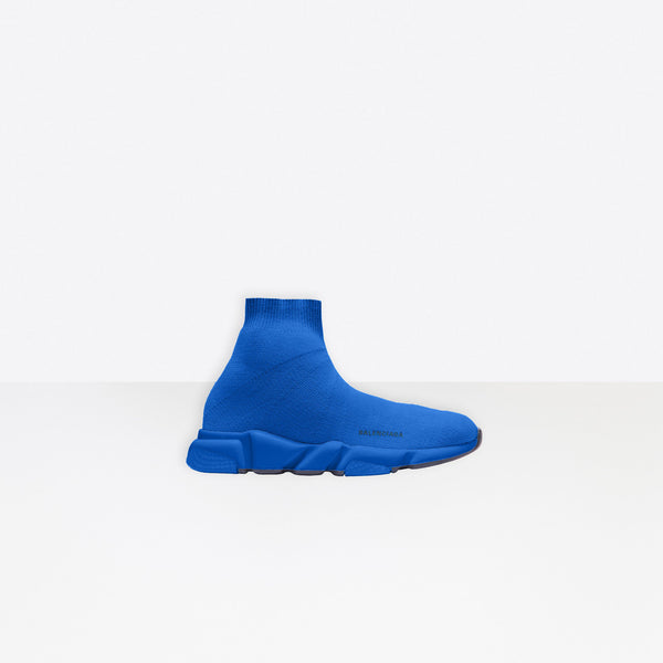Balenciaga Kids Speed Trainer Electric Blue - Perriél