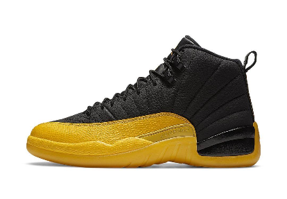 Jordan 12 Retro Black University Gold - Perriél
