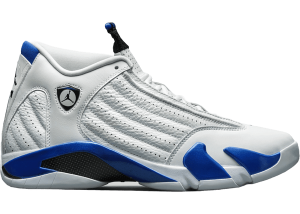 Jordan 14 Retro White Hyper Royal - Perriél