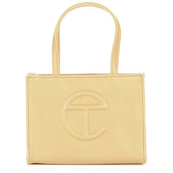 TELFAR Small Cream Shopping Bag