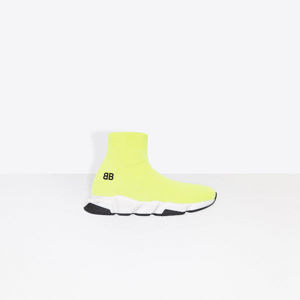 Balenciaga Kids Speed Trainer Yellow - Perriél