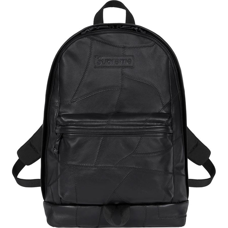 Supreme Patchwork Leather Backpack - Perriél