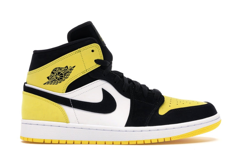 "Jordan 1 Mid ""Yellow Toe"" - Perriél"