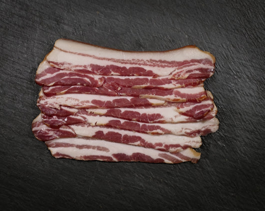 Streaky Bacon (dry cured, smoked)