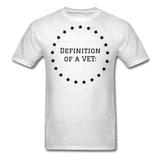 Definition Of A VET - light heather grey