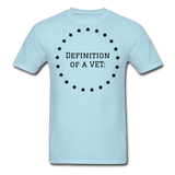 Definition Of A VET - powder blue