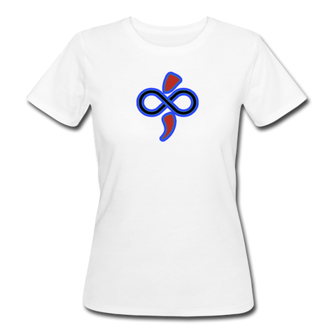 Eco-friendly Women's Organic Infinite Love T-Shirt - white