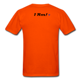 Work In Progress, I Am Men's Custom T-Shirt - orange