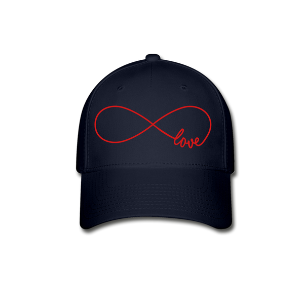 Love Is Eternal Baseball Cap - navy