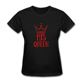 His Queen Custom Women's T-Shirt - black